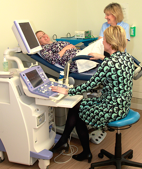 Gynaecology suite Chichester Gynaecolgist