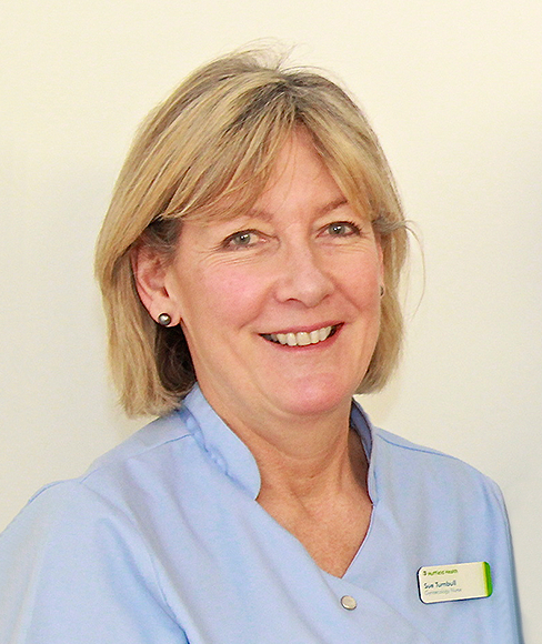 Sue Turnbull, Gynaecology Nurse